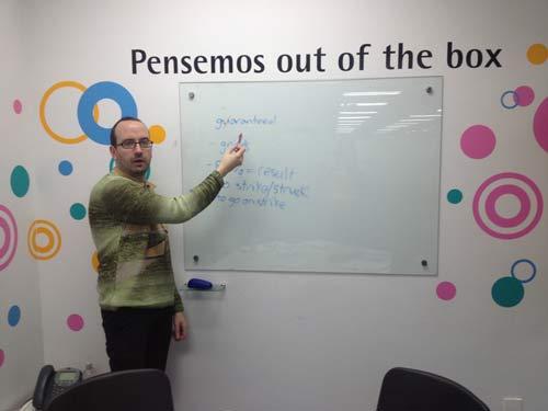 Teaching an English Class